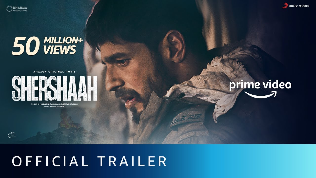 Download Shershaah - Official Trailer | Vishnu Varadhan | Sidharth Malhotra, Kiara Advani | Aug 12