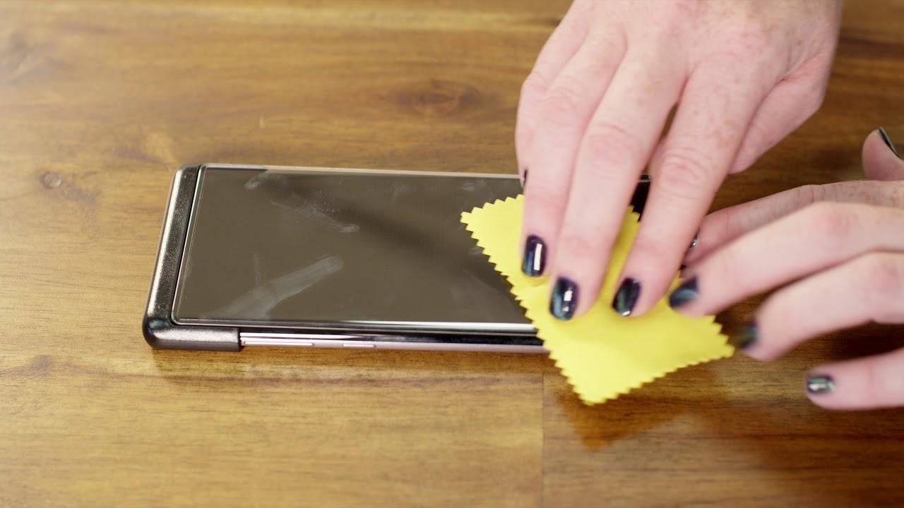 best service 25e6f e5d38 OtterBox | Samsung Galaxy Note8 Alpha Glass Installation