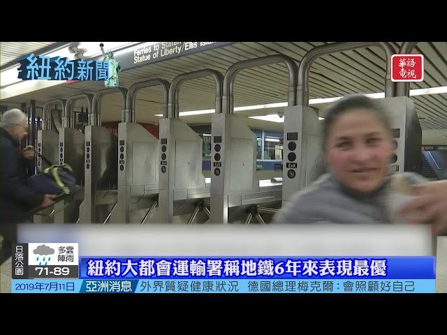 華語電視 紐約新聞 07/11/2019