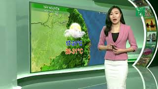 VTC14   Thời tiết du lịch 13/02/2018  bão Sanba ảnh hưởng đến các tỉnh từ Bình Định đến Bình Thuận