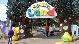 CBeebies Land At Alton Towers Full Tour with All Rides