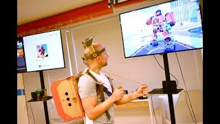 Nintendo Labo, los videojuegos se pasan al cartón