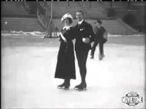 Figure Skating in 1907 Stockholm via MovieTone Digital Archive