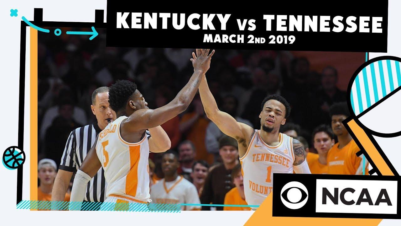 Kentucky vs. Tennessee | 3-2-2019 | College Basketball ...