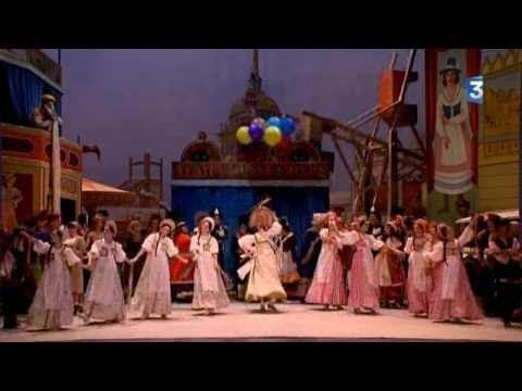 Petrushka . extrait de ACT 1. Ballet l'opera National de Paris