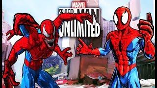 Совершенный Человек Паук #1 игра мультик мобильная версия iOs играю  Spider Man Unlimited