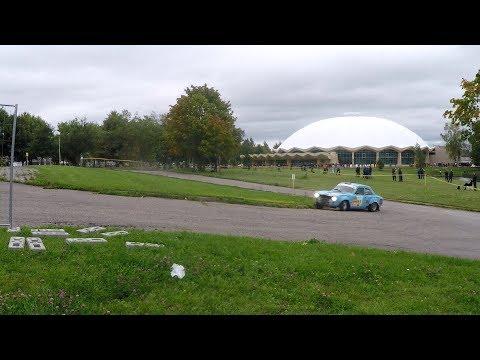DHL Rally Elektrėnai: SS1 (Swimming pool turn)
