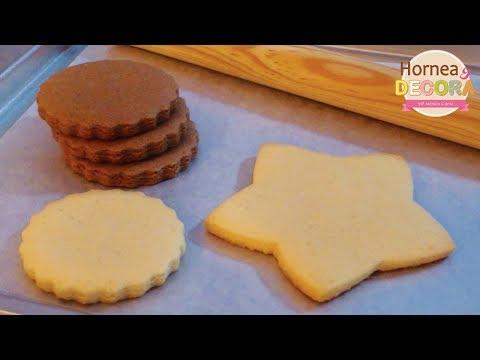Masa para galletas decoradas / Básicos y tips