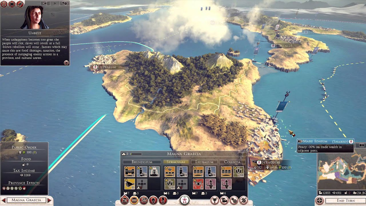 Lets Play Total War ROME II Campaign US YouTube - Maps of us and rome