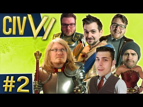 Civ VI: Fractal Fighters #2 - Penalties For Everyone