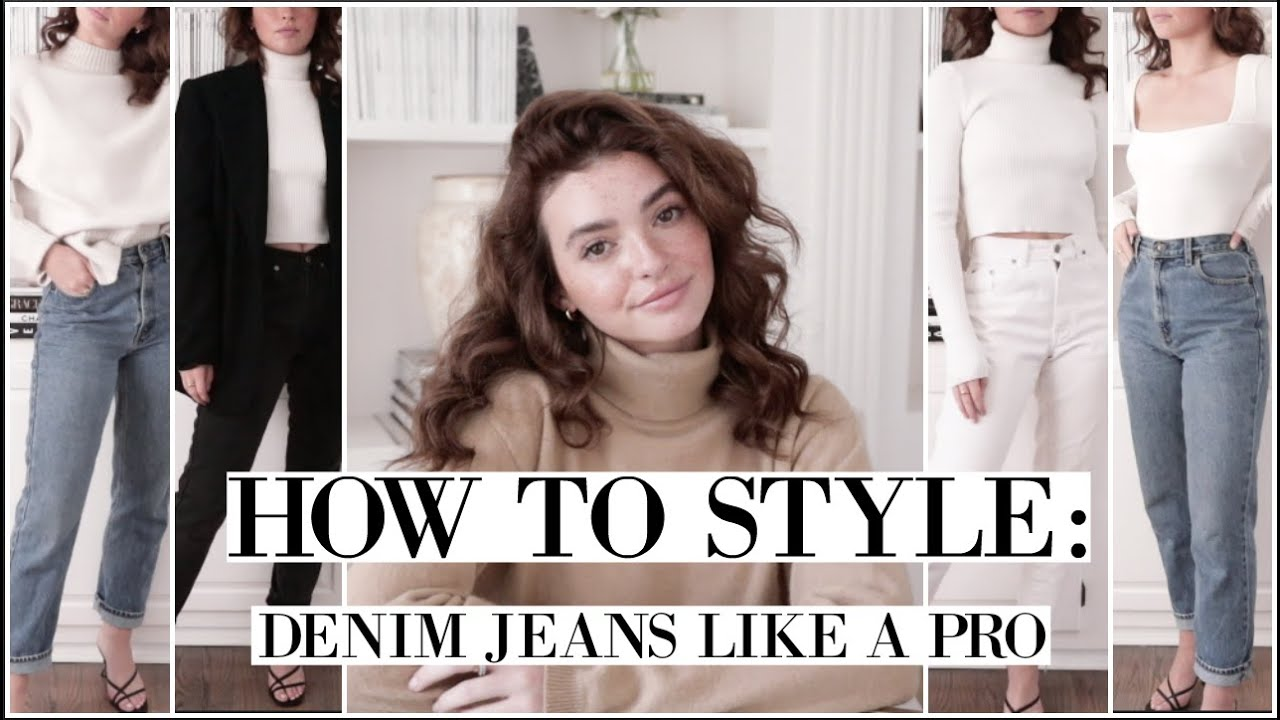 How To Style: DENIM!