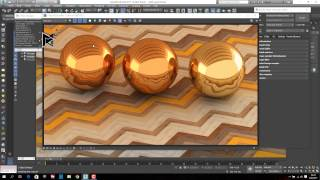 3ds Max Vray Realistic Gold Material