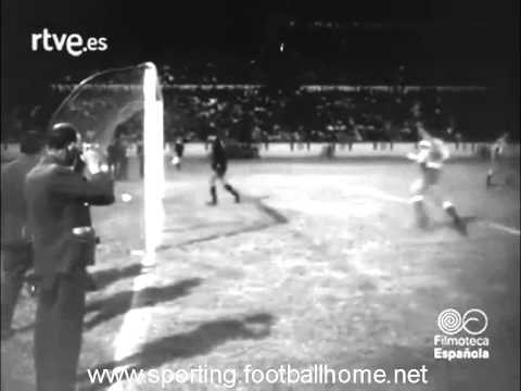 Deportivo - 4 x Sporting - 0 Final do Troféu Teresa Herrera em 30/08/1964