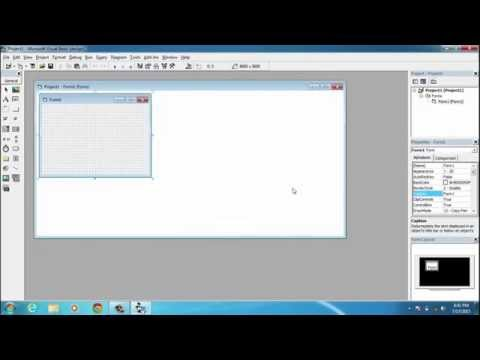 Visual Basic 6.0 | Elements of IDE (Integrated Development Environment)