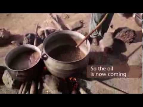 How Organic Shea Butter aka Ori is made in West Africa