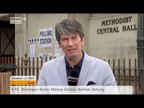 Wahl in Großbritannien: Andreas Weise aus London am 08.06.17