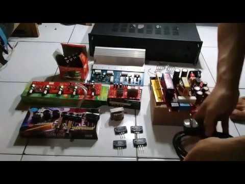 tutorial cara merakit power amplifier 400 watt stereo (200 watt x 2) PART 1