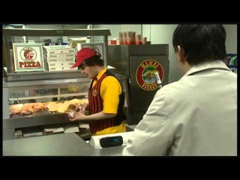 Black Books S1E5 - mamba burger scene