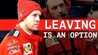 Vettel Open to Leaving Ferrari - Haas Could Quit F1 After 2020 - Red Bull Future Hinges on Max