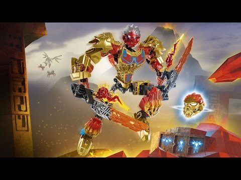 LET'S BUILD! - BIONICLE - 71308: Tahu, Uniter of Fire