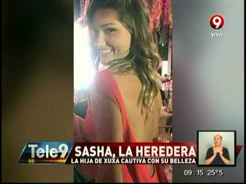 Sasha, la hija de Xuxa cautiva con su belleza