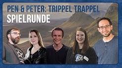"""Pen and Peter: Spielrunde """"Trippel Trappel"""", Cthulhu  mit Mháire, Doerk, Julia, Peter und Karsten"""