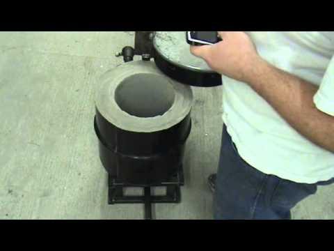 Homemade Foundry Furnace - YouTube