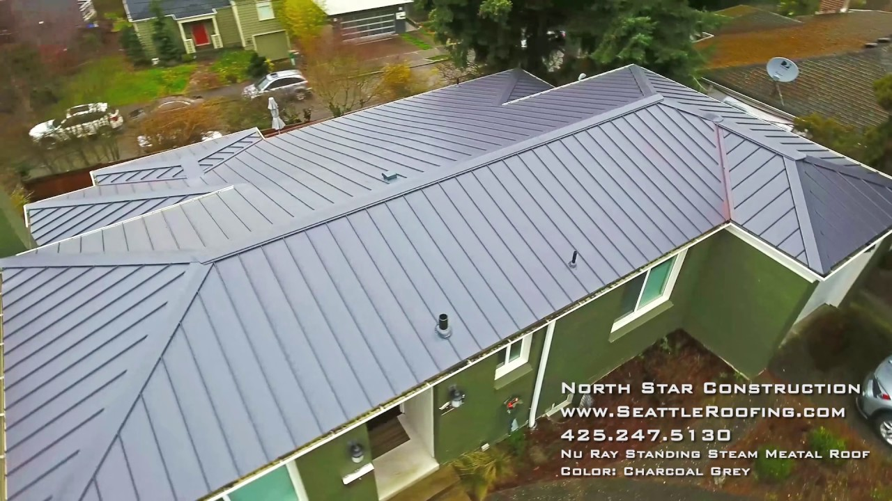 North Star Construction Nu Ray Steam Metal Color Charcoal Grey Youtube