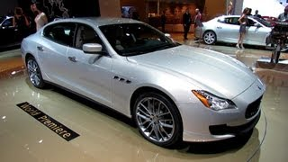 2014 Maserati Quattroporte - Exterior and Interior Walkaround - 2013 Detroit Auto Show