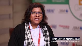 Hemalatha Annamalai - Founder & CEO, Ampere Vehicles shares her thoughts about Auto Expo 2018