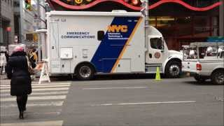 "NEW YORK CITY OFFICE OF EMERGENCY MANAGEMENT, ""OEM"", & INFORMATION TECHNOLOGY COMMAND CENTERS IN NYC"