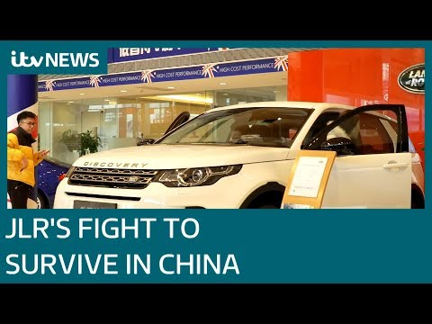 Jaguar Land Rover fight to survive in current Chinese economy | ITV News