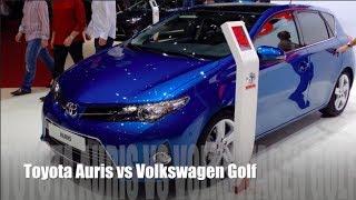 Toyota Auris vs Volkswagen Golf