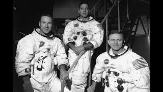 APOLLO 8 - Christmas Eve 1968 Message, In The Beginning God