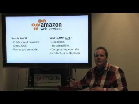 AWS cloud computing - Gerrit Tamboer (ITGilde techtalk 2016-10-26)