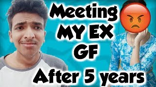 Meeting My Ex Girlfriend After 5 Years 😢😢😢
