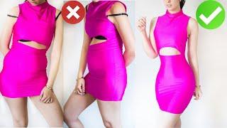 TRUCOS QUE USAR ABAJO DE LA ROPA Y EL CUERPO SE VEA BIEN/diy ropa abdomen delgada/Jeka Channel