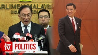 Anwar: Azmin not a threat to PM post