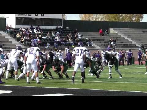 Football Highlights From 2012 Adams State Homecoming