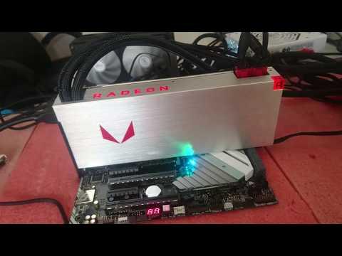 AMD Vega 64 Liquid ETH + DCR Dual Mining Performance - DAGFix, Stock!