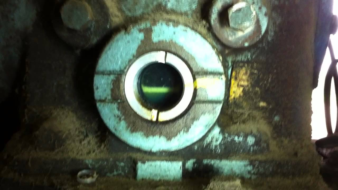 Refrigeration Compressor Oil Level