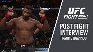 "UFC Minneapolis: Francis Ngannou - ""I Believe I Should Face the Winner of DC vs Stipe"""
