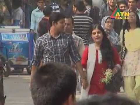 Valentines Day Dhaka Bangladesh 2013 ATN Bangla Rahat Minhaz