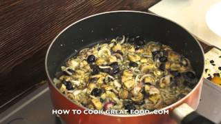 Garlic Mushrooms Recipe - Super Easy Italian Style Stuffing