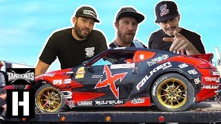 Supercharged LSX Nissan 370Z Crashes- XBOX Giveaway!!