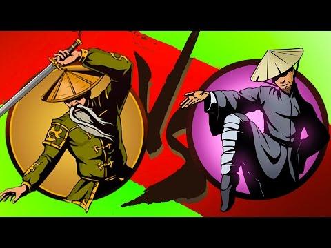 Мультик Игра для детей Shadow Fight 2 Бой с тенью #12 Журавль Ниндзя Отшельник #КРУТИЛКИНЫ