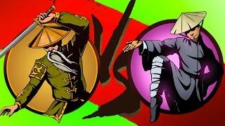 Мультик Игра Shadow Fight 2 Бой с тенью #12 Журавль Ниндзя Отшельник #КРУТИЛКИНЫ