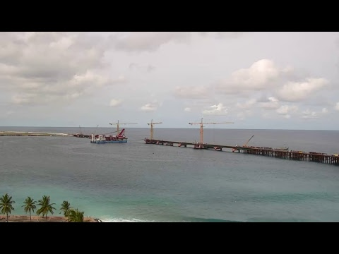 Maldives - China Friendship Bridge Live