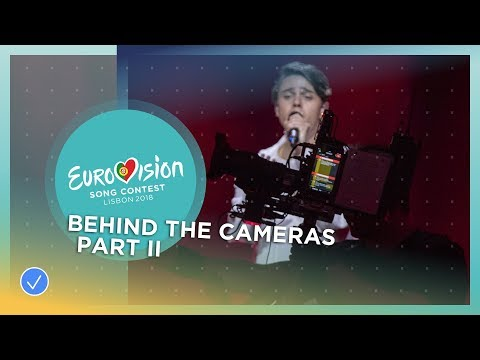 Eurovision Behind The Cameras part 2: The on-stage camera