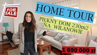 HOME TOUR: Piękny dom na Warszawskim Wilanowie